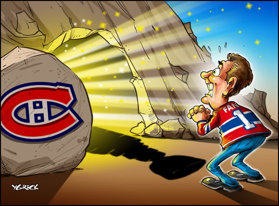 Canadiens coupe ygrecq