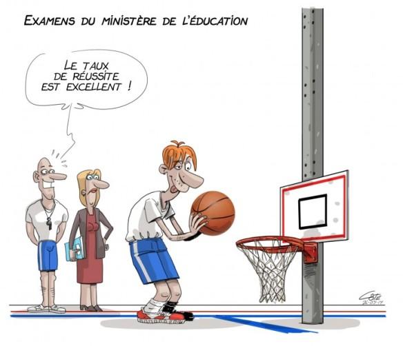 examens ministère Côté