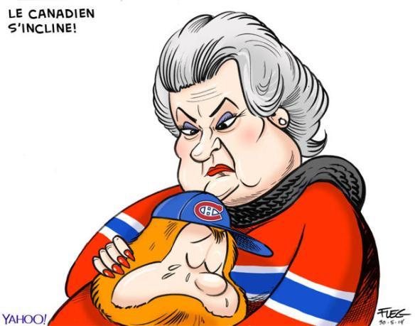 Les Habs, le Canadien de Montréal s'incline en finale de la ligue Est de hockey