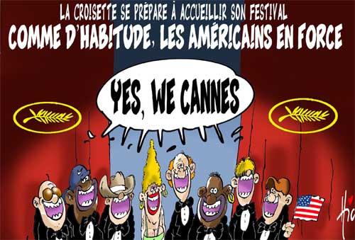 les Américains à Cannes