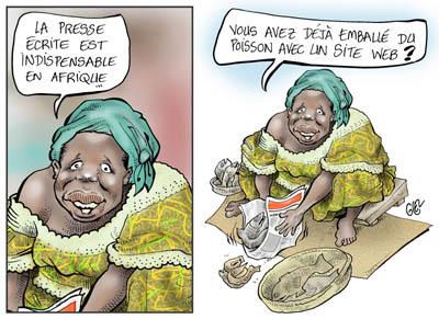 La presse en Afrique