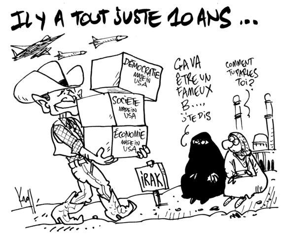 !1 ans la guerre en Irack