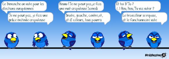 birds élections Européennes
