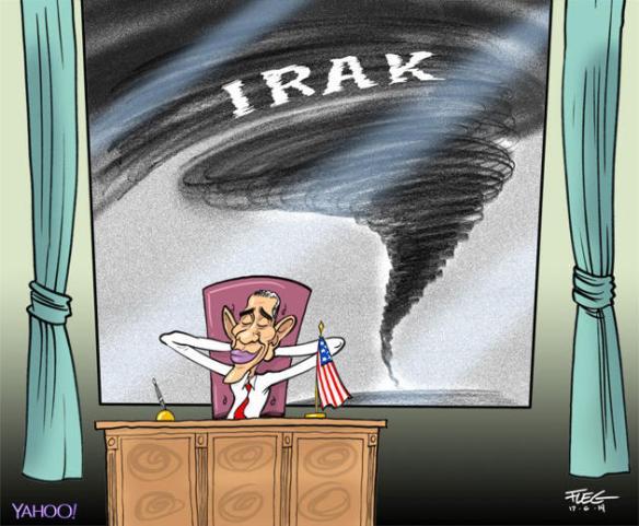 Irak la tornade approche