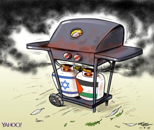 BBQ bombe Israël Gaza