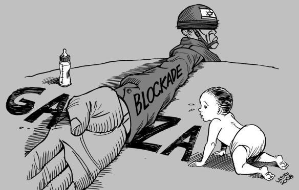 blocage Gaza