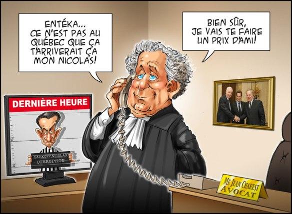 L'ancien 1er ministre du Québec et l'ancien Président en ligne