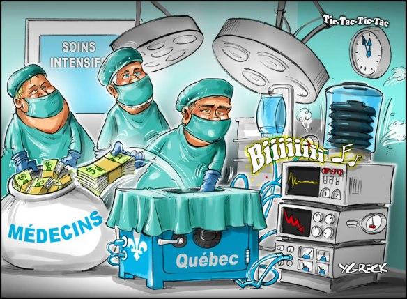 Nos 3 principaux Sinistres (premier, santé et éducation) en opération. Rentable d'être en même temps député, Sinistre... et médecin.