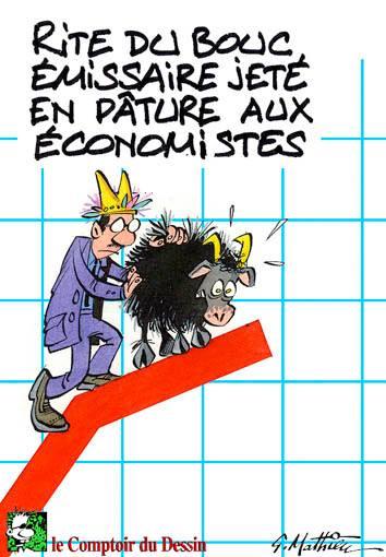 bouc émissaire économistes