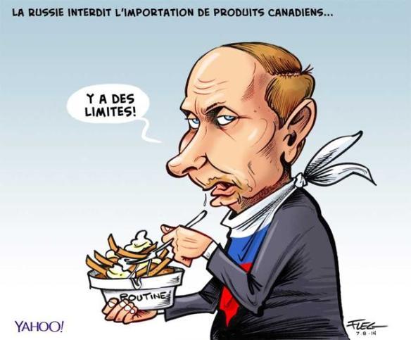 la poutine de Poutine