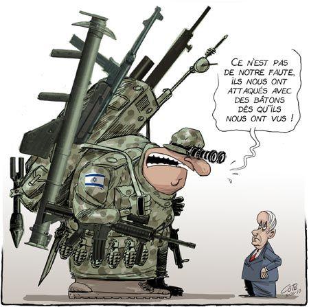 retrait Israélien