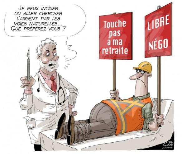 retraites opération côté