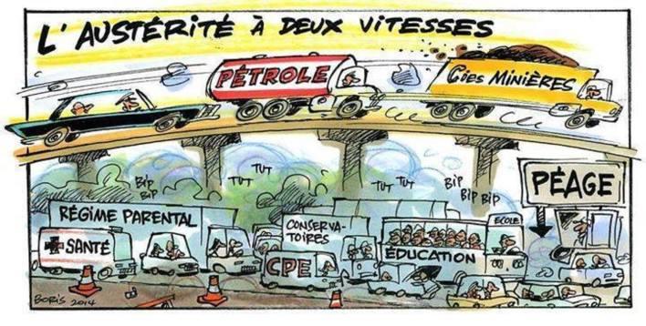 austérité 2 vitesses
