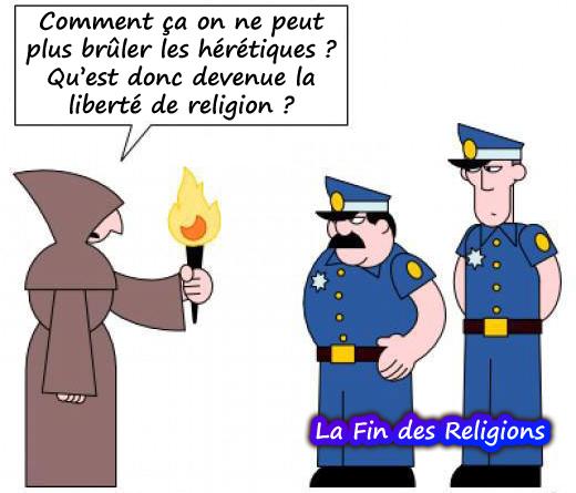 la fin des religions