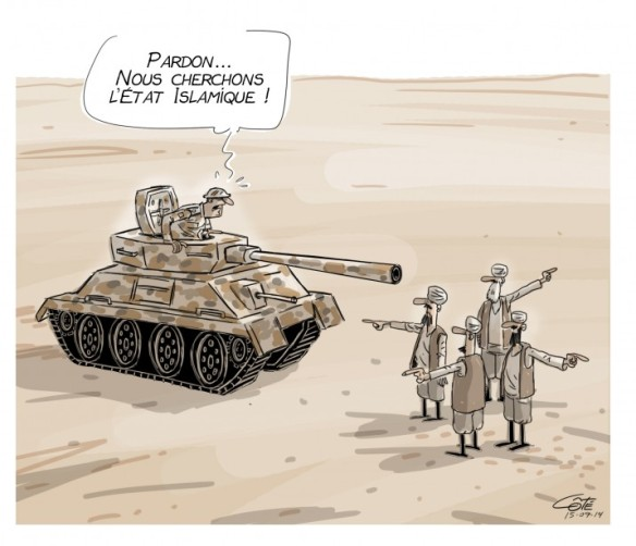 Où l'État Islamique