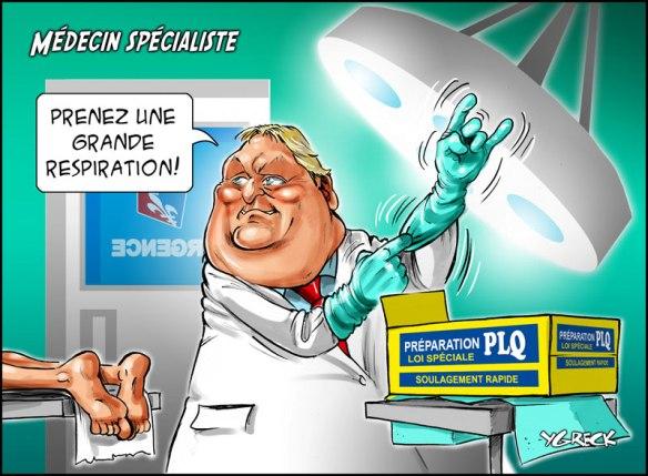 opération médecins spécialistes