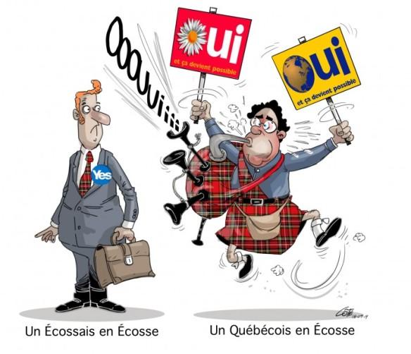 québécois en écosse