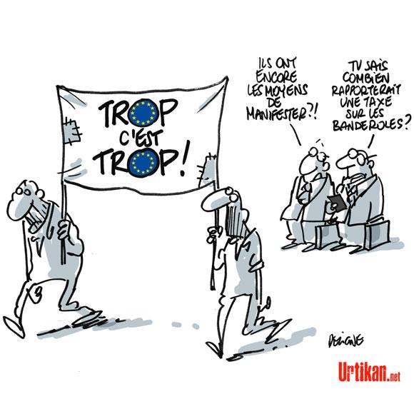 taxe sur les banderoles