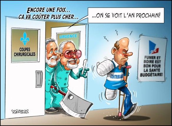 coupe chirurgicale du Dr Couillard, 1er Sinistre du Québec