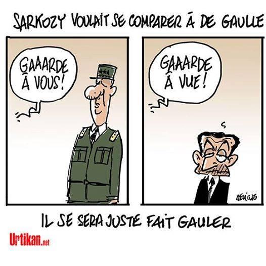 De Gaulle Sarko