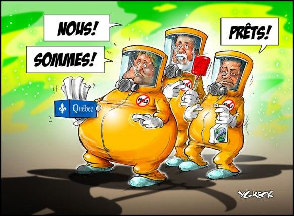Ebola Québec