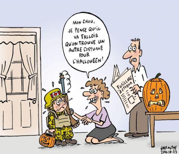 fusillade-a-ottawa Halloween