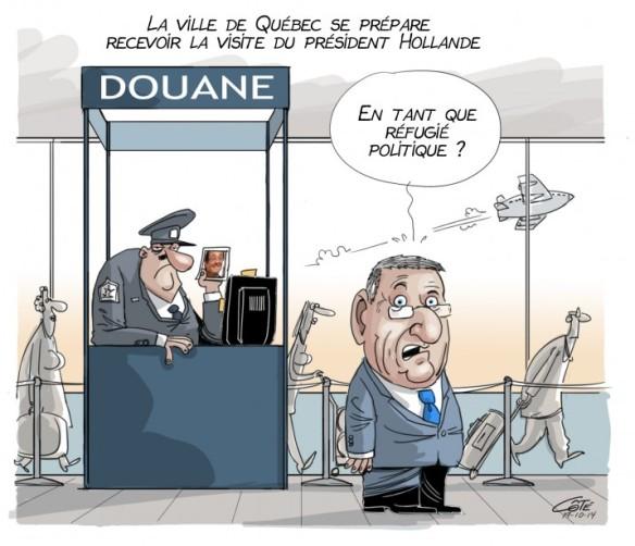 Québec reçoit Hollande