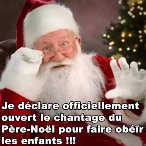 chantage au Père Noël