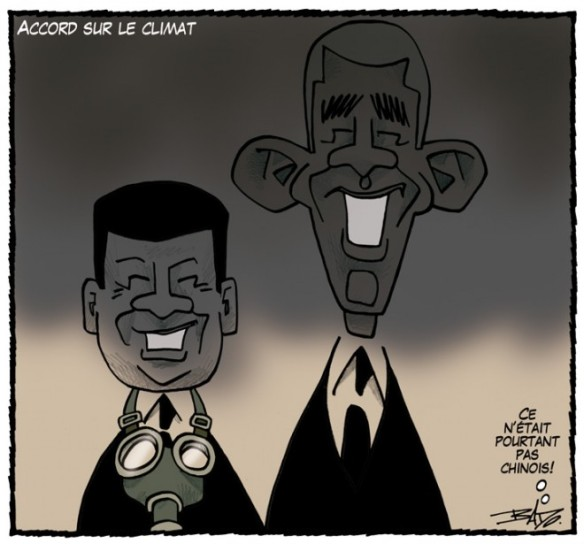 climat accord US Chine