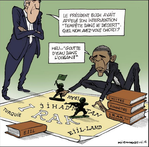 Intervention US en Irak