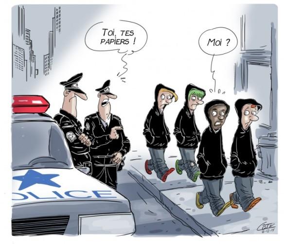 discrimination police