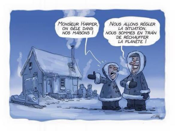 Harper réchauffe la planète