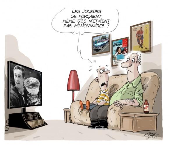 Hommae à Jean Béliveau Côté
