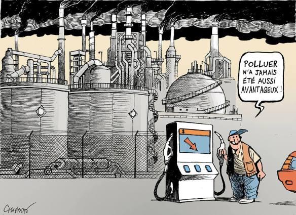 baisse du pétrole