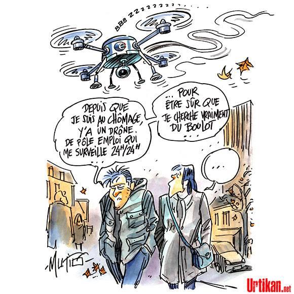 Drone pôle emploi