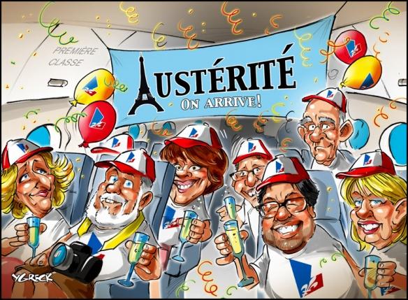 austérité on arrive