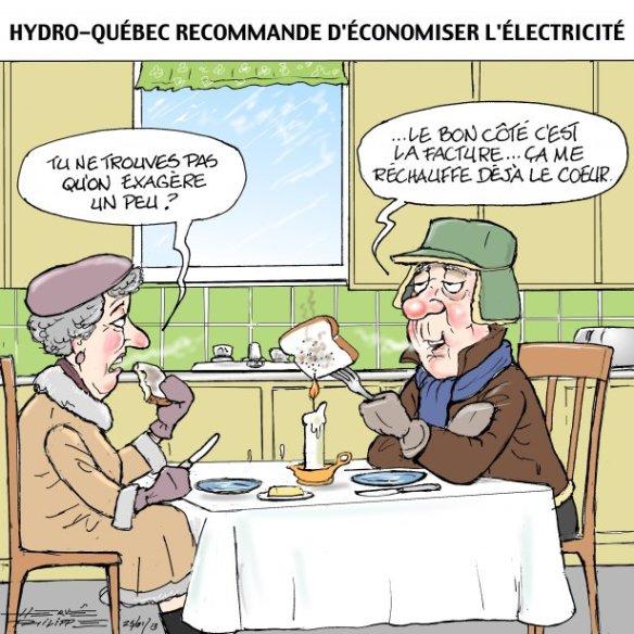 économie d'électricité