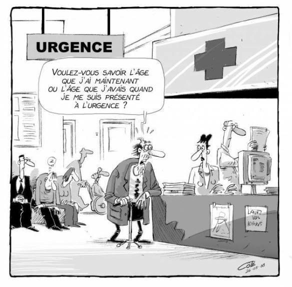 engorgement urgences