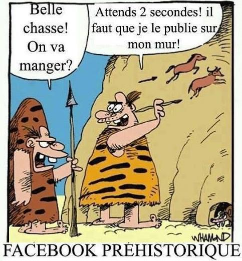 facebook préhistoire