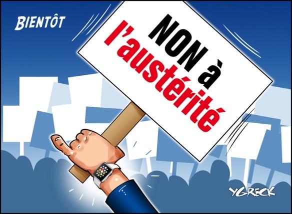 Non à l'austérité