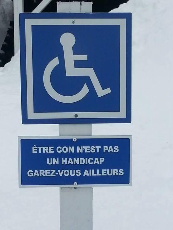 con handicap