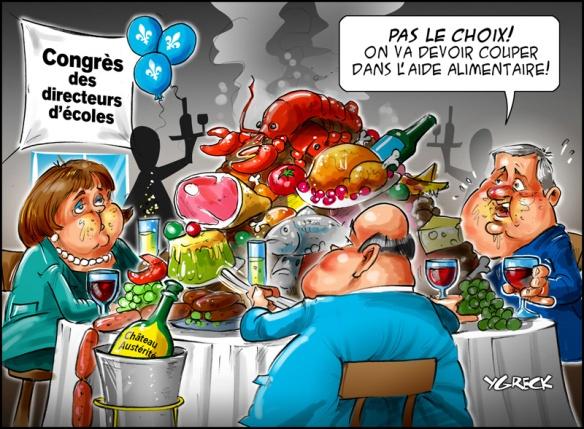 congrés des directeurs d'écoles de la commission scolaire ddu grand Montréal