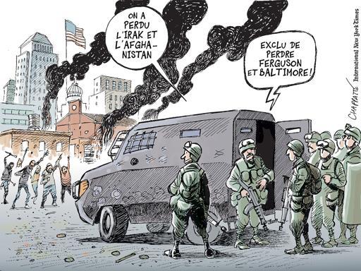 Ferguson et Baltimore