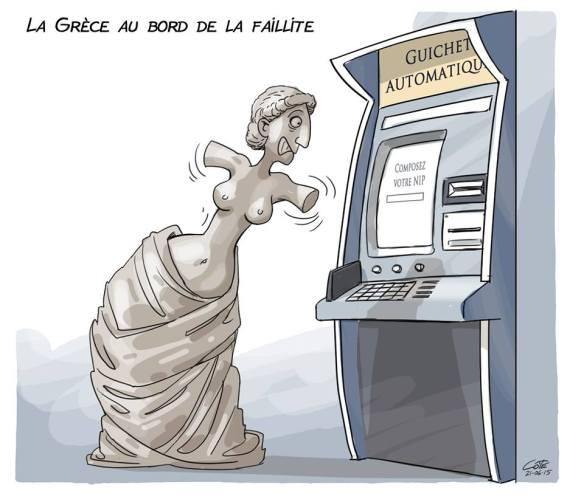 Grèce faillite