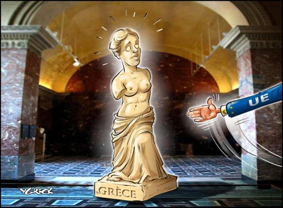 Avant le référendum Grec