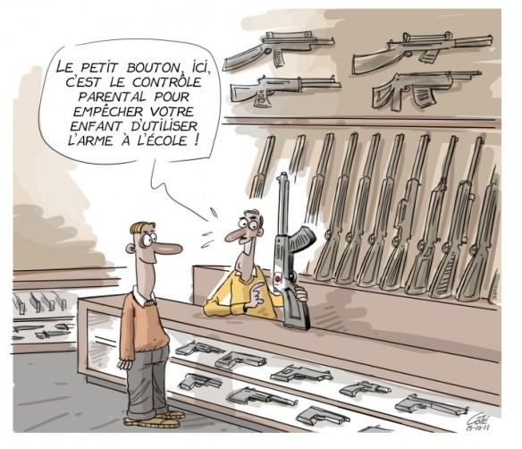 armes contrôle parental