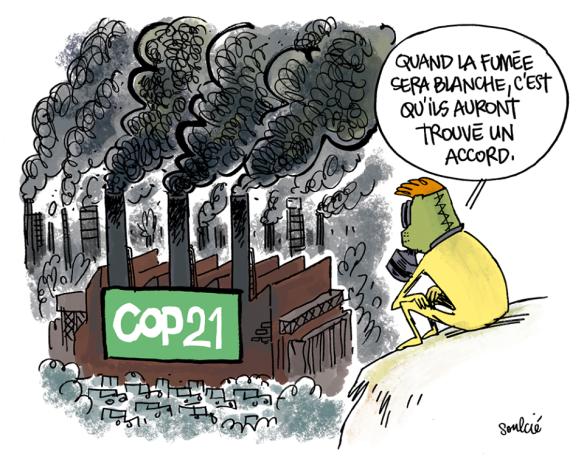 cop21 fumée