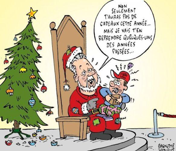 Quand le 1er Sinistre du Québec endosse l'habit du Père Noël