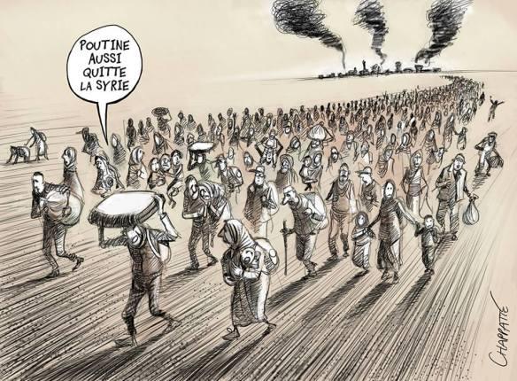 poutine quitte la Syrie