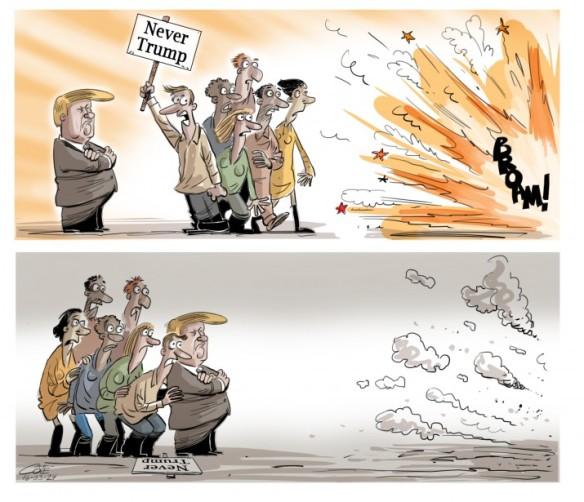 attentats Trump